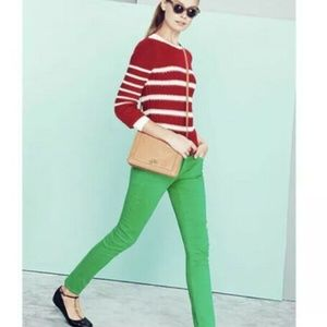 J. Crew Ripplestitch Cable Knit Pullover Sweater